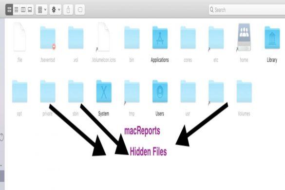 Hidden files in macOS