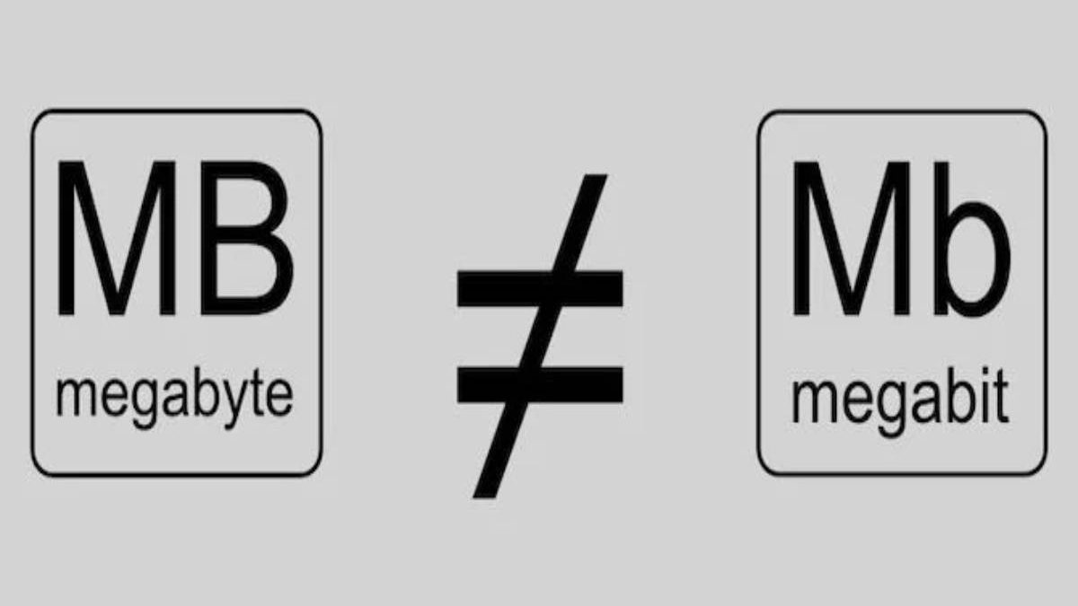 How many MegaBits in a MegaByte? – Difference, convert