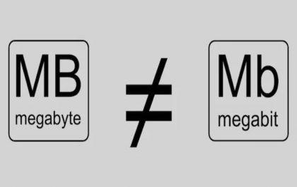Megabits in a megabyte